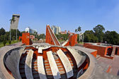 Astronomical observatory Jantar Mantar in Delhi — Stock Photo