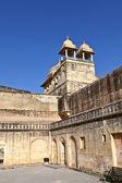 ジャイプール、インドで有名な琥珀砦の内部. — ストック写真