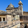 Inside beautiful Amber Fort in Jaiput — Stockfoto