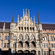 Facade of Munich city hall — Stockfoto