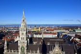 Aerial of Munich in beautiful weather — ストック写真