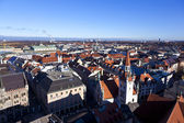 Aerial of Munich in beautiful weather — Foto Stock