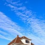Generic family home in suburban area — Stock Photo #8294156