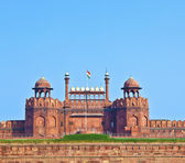 Red Fort in Delhi, India — Stock Photo