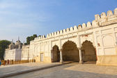 Hammam and Mosque in RED FORT complex in Delhi, India. — Foto Stock