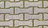 Brick road background — Stock Photo