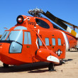 Aircraft Sikorsky HH-52A Seaguard in the Pima Air and space Muse — Stock Photo