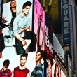 Stock Photo: Times Square, featured with Broadway Theaters and huge number of