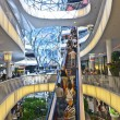 Modern shopping center in Frankfurt — Stock fotografie