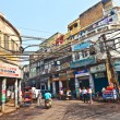 Stock Photo: On street of Chawri Bazar, wholesale market of O