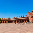 The Jama Masjid in Fatehpur Sikri is a mosque in Agra, completed — Stock Photo