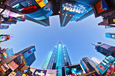 Times Square is a symbol of New York City — Stock Photo