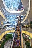 Moderno centro comercial en frankfurt — Foto de Stock