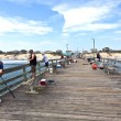 Stock Photo: Enjoy fishing at famous pier