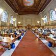 New York Public Library (NYPL) is the largest public library in — Stock Photo