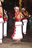 ミュージシャン祭りペラを参加しているお菓子のヘラ — ストック写真