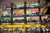Inside the Pantip Plaza, the bigges electronic and softwa — Stock Photo