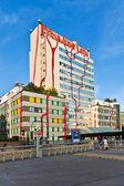 District heating Vienna of Hundertwasser forms — Stock Photo