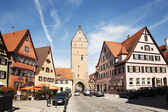 Romantic Dinkelsbühl, city of late middleages — Stock Photo