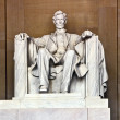 Lincoln Memorial in Washington - Stock Photo