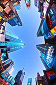 Times square é um símbolo da cidade de nova york — Foto Stock