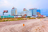 çelik i̇skele atlantic city, nj amuesment parkı — Stok fotoğraf