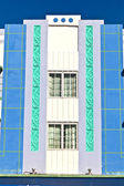Beautiful houses in Art Deco style in South Miami — Stock Photo