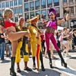 Celebrate the Christopher Street Day in Munich with color — Stok fotoğraf