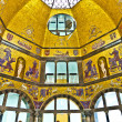 Art nouveau cupolin city museum of Wiesbaden — Stock Photo #8680872