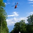 Rescue by Helicopter — Foto Stock
