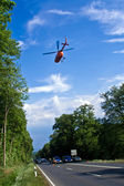 Rescue by Helicopter — Stock Photo