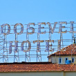 Famous Roosevelt Hotel in Holywood — Stock Photo