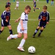 Children of BSC SChwalbach playing soccer — Stock Photo