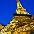 The Hotel Paris Vegas with the Eiffel tower — Stock Photo #8728978