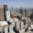 View from the rooftop to the city of San Francisco — Stok fotoğraf