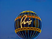 The Hotel Paris Vegas with the Eiffel tower — Stock Photo