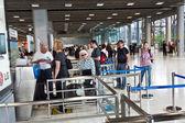 Celkový pohled na mezinárodní letiště suvarnabhumi — Stock fotografie