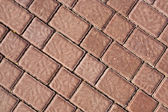 Brick footpath background — Stock Photo