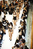 Opening of lingerie shop La Perla in shopping mall GAYSON — Zdjęcie stockowe