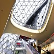Modern architecture in the new shopping center Myzeil by archite — Foto de Stock