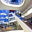 Modern architecture in the new shopping center Myzeil by archite - Stock fotografie