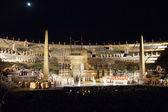 Performance of aida in the arena of verona — Stock Photo