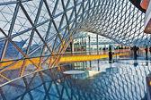 современная архитектура в новый торговый центр myzeil, презентация — Стоковое фото