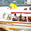 Stock Photo: In public ferry on river Mae Nam Chao Phraya