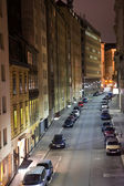 Vienna - famous narrow street in first district of vienna at nig — Stock Photo