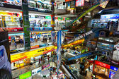Inside the Pantip Plaza, the bigges electronic and software shop — Stock Photo