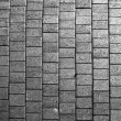 Grey paving tiles - Stock Photo