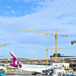Aircraft at the apron — Foto de Stock