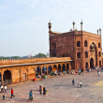 Jama Masjid Mosque, old Delhi, India. — Stock Photo #8894356