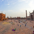 Jama Masjid Mosque, old Delhi, India. — Stock Photo #8894704